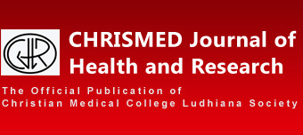 CHRISMED Journal of Health and Research